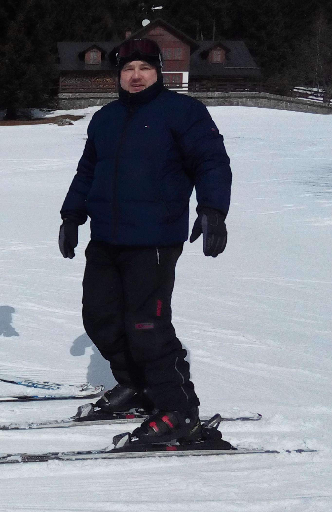 Krkonoše na lyžích
